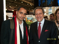 Egypt last minute CEO with Egyptian Tourism Minister