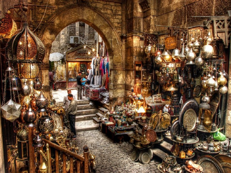 Khan Elkhalily bazaar
