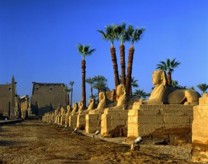 Luxor egypt temples