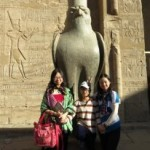 Pyramids and Xmas Nile Cruise by Train
